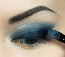 3 - Smokey eye step by step